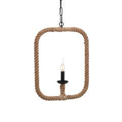 Závěsné svítidlo Rope Contour - Square