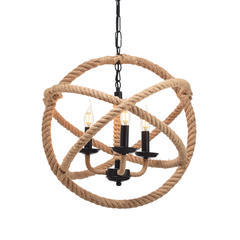 Závěsné svítidlo Rope Circle - 1