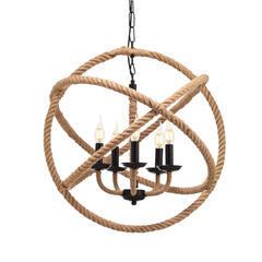 Závěsné svítidlo Rope Circle - 2