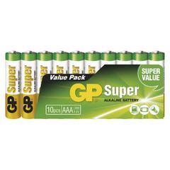 Alkalická baterie GP Super AAA 10ks
