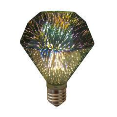 LED žárovka 3D DIAMOND E27 4W - stmívatelná