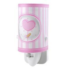 Noční lampička Sweet Light, růžová