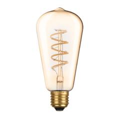 LED žárovka Filament spiral Edison E27 6W