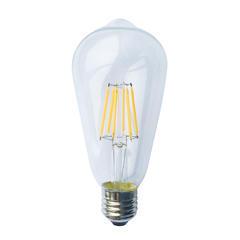 LED žárovka Filament Edison E27 6W