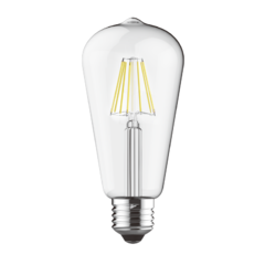 LED žárovka filament STEP Edison E27 8W
