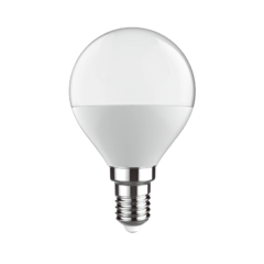 LED žárovka STEP stmívatelná ball E14 7W, Denní bílá