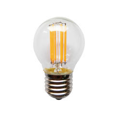LED žárovka Filament Ball E27 6W WW