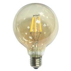 LED žárovka Filament Globe E27 O125 6W Stmívatelná