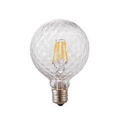 LED žárovka Filament Poc ø125 E27 6W Stmívatelná