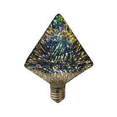 LED žárovka 3D PYRAMID E27 4W - stmívatelná