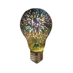 LED žárovka 3D VINTAGE E27 4W - stmívatelná