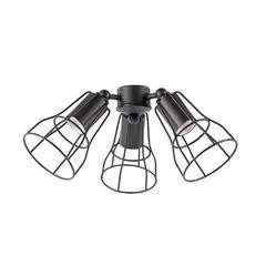 Světelný set pro ventilátor Aloha/Yakarta - hnědá