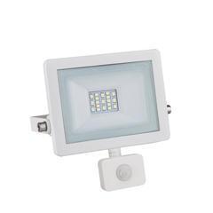 LED reflektor 10W s pohybovým čidlem - bílý
