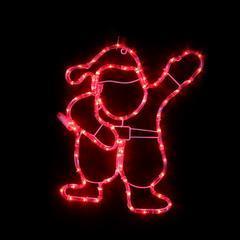 Vánoční venkovní LED dekorace Santa - 1