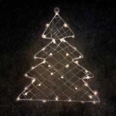 Venkovní vánoční LED dekorace Stromek 1D