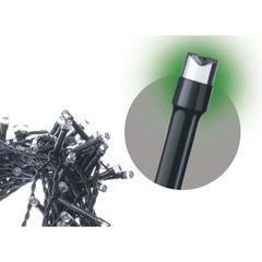 Spojovací LED řetěz Standard 10m IP44 Zelená