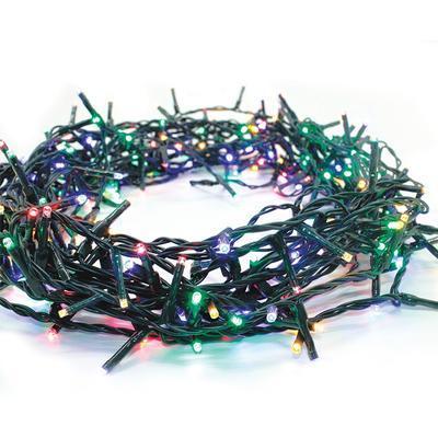 Vánoční venkovní LED řetěz 8 funkcí RGB - 2