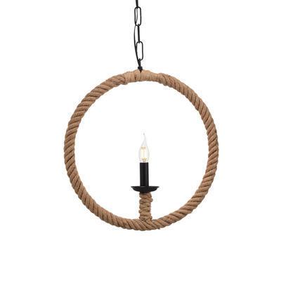 Závěsné svítidlo Rope Contour - Circle - 1