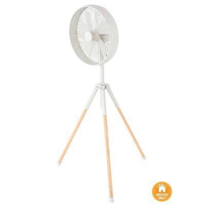 Stojací ventilátor Lucci Tripod fan - bílý - 1