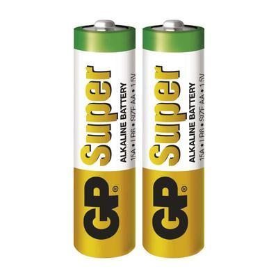 Alkalická baterie GP Super AA 2ks - 1