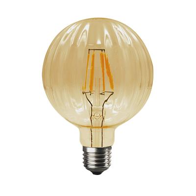 LED žárovka Filament Bari E27 6W, Jantar - 1
