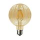 LED žárovka Filament Bari E27 6W, Jantar - 1/2