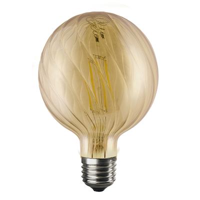LED žárovka Filament Bria E27 6W, Jantar - 1