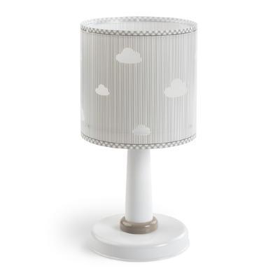 Dětská stolní lampička Sweet Dreams, šedá - 1