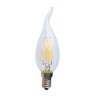 LED žárovka Filament Candle Tip E14 4W