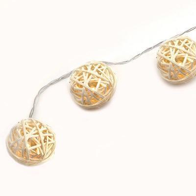 Vánoční LED řetěz Klubko - 135cm