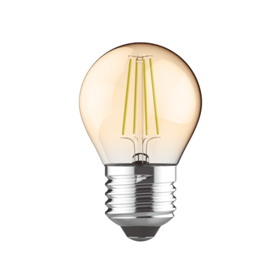 LED žárovka filament STEP Ball E27 5W