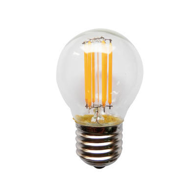 LED žárovka Filament Ball E27 4W Stmívatelná, Denní bílá