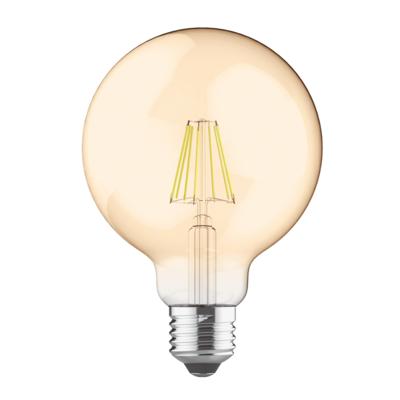 LED žárovka filament STEP Globe O95 E27 8W