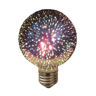 LED žárovka 3D Ball E27 4W - stmívatelná - 1