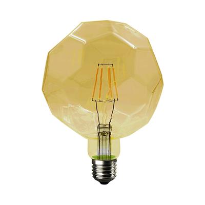 LED žárovka Filament Lig E27 6W, Jantar - 1