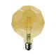 LED žárovka Filament Lig E27 6W, Jantar - 1/2