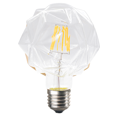 LED žárovka Filament Lilac E27 6W, Čirá - 1