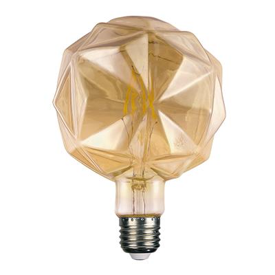 LED žárovka Filament Lilac E27 6W, Jantar - 1