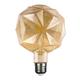 LED žárovka Filament Lilac E27 6W, Jantar - 1/2