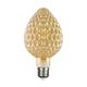 LED žárovka Filament Mava E27 6W, Jantar - 1/2