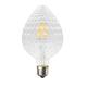LED žárovka Filament Mava E27 6W, Čirá - 1/2