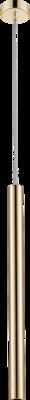 Závěsné LED svítidlo LOYA - 1, lesklé zlato - 1