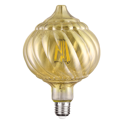LED žárovka Filament Pine E27 6W, Jantar - 1