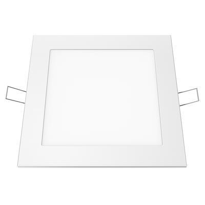 Zapuštěný LED panel 12W 170x170 mm - denní bílá - 1