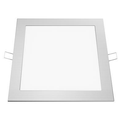 Zapuštěný LED panel 18W 225x225 mm - denní bílá - 1
