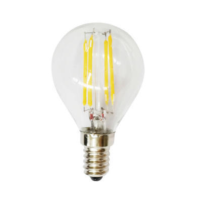 LED žárovka Filament Ball E14 4W
