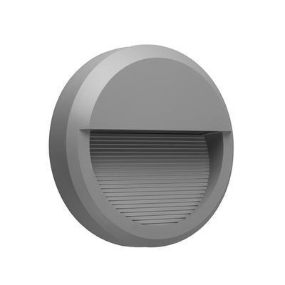 Fasádní LED svítidlo Emboss - Round - 1
