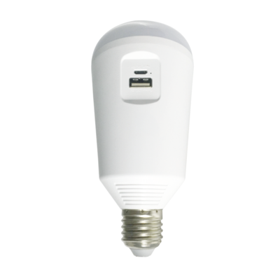 Solární a nouzová LED žárovka/svítilna - 1
