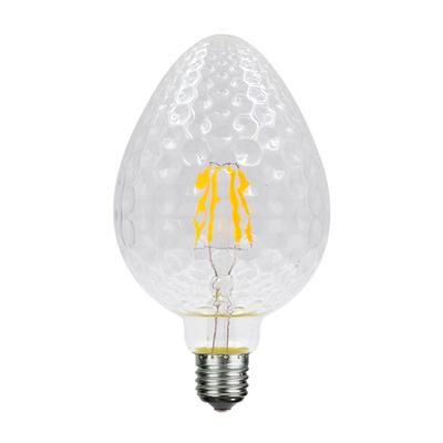 LED žárovka Filament Tera E27 6W, Čirá, Stylová stmívatelná LED žárovka vynikne především v otevřených svítidlech, v nichž se může ukázat v celé kráse. - 1