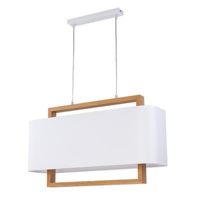 Závěsné svítidlo ARTEMIDA - 1 - L, světlé dřevo - 1